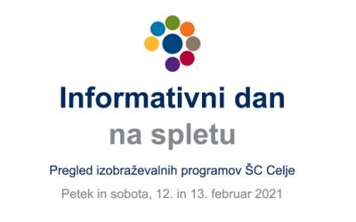 Informativni dnevi ŠC Celje